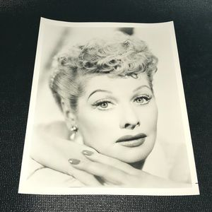 Lucille Ball Glamour Self Portrait